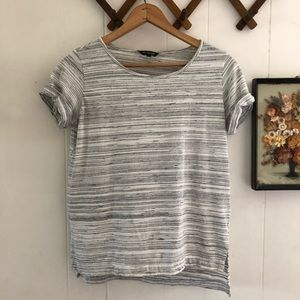 Massimo Dutti Striped Cotton Tee